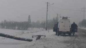 41 de localități din Giurgiu și Ilfov, fără curent electric