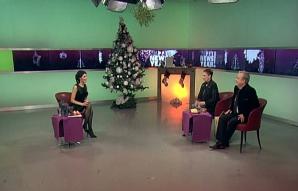 Revelion 2016. Felicia Filip şi Cristian Mihăilescu au petrecut noaptea dintre ani la Realitatea TV