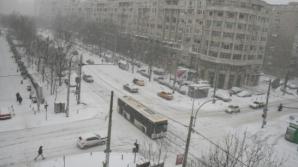 Probleme cu transportul în comun în Bucureşti