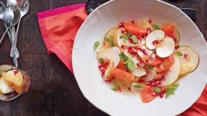 Cum faci cea mai delicioasă salată de iarnă. Cel mai rapid desert cu fructe