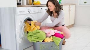 Greşeala pe care o facem toţi când utilizăm maşina de spălat