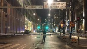 Explozie în faţa unui centru comercial din Stockholm