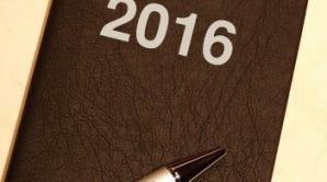 Calendarul personal 2016 – zile bune și zile prudente