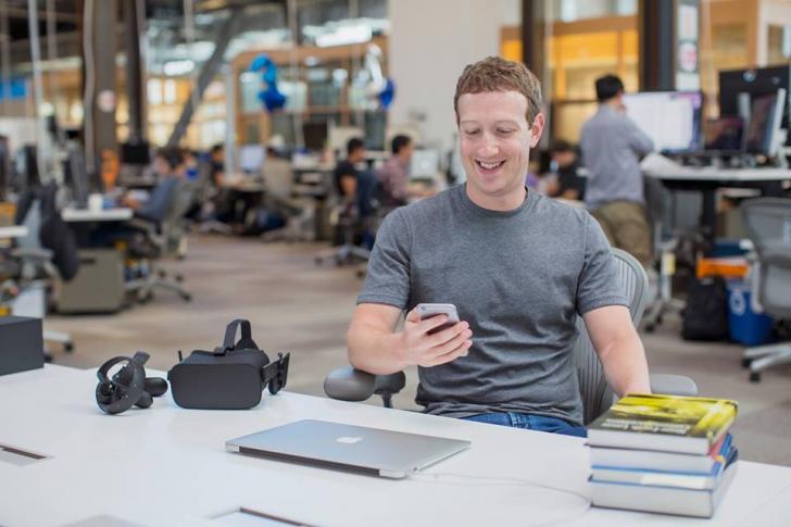 Imaginea de 2,5 milioane de like-uri. Mark Zuckerberg  și fiica sa fac asta pentru prima oară