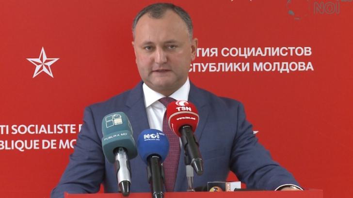 Socialiştii din Moldova cer alegeri anticipate: PSRM nu îl susţine pe Păduraru în funcţia de premier