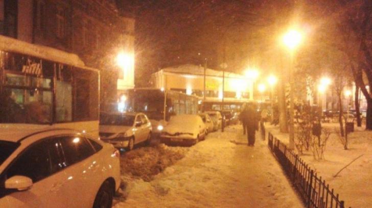 Ce a păţit şoferul din Constanţa care a blocat circulaţia în Piaţa Romană din Bucureşti