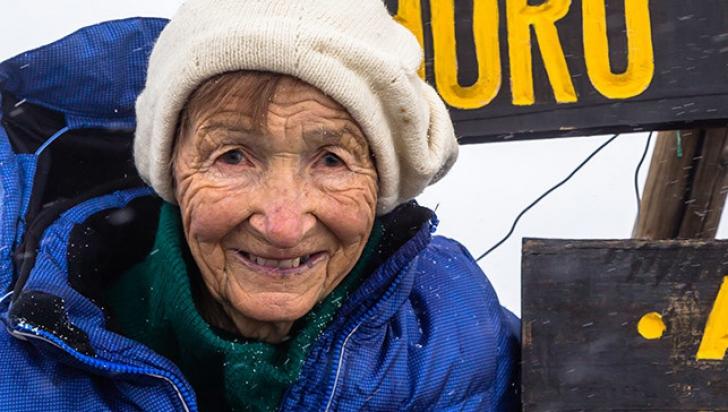 Ce a făcut această bătrânică de 86 de ani a uimit întreaga lume