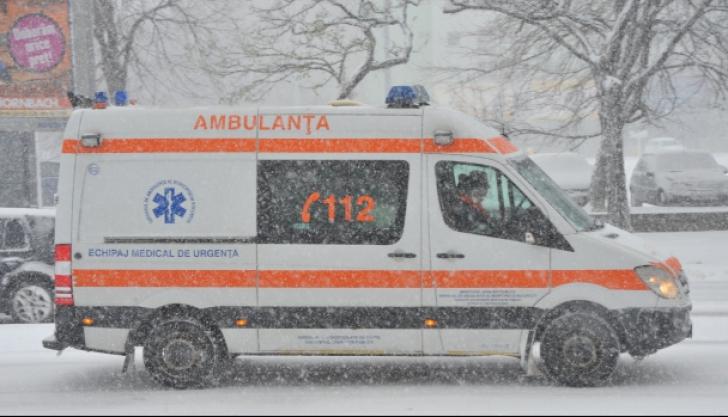 800 de persoane înzăpezite au primit asistenţă medicală, în ultimele două zile