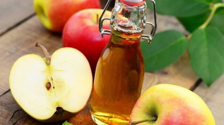 cum se vindecă oțetul de mere picioare în vopsire