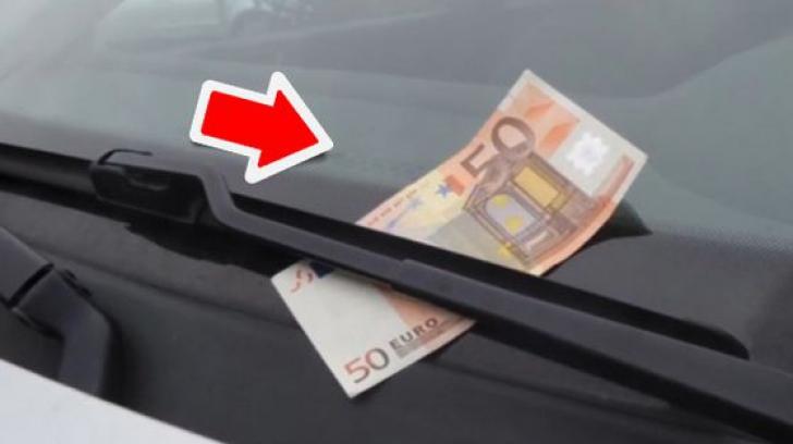 O nouă metodă de furt. Dacă vedeţi bancnota de 50 de euro, nu coborâţi