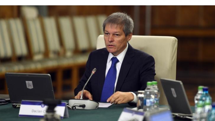 Dacian Cioloş, la Ministerul Agriculturii: Nu am fost în control, am discutat colegial