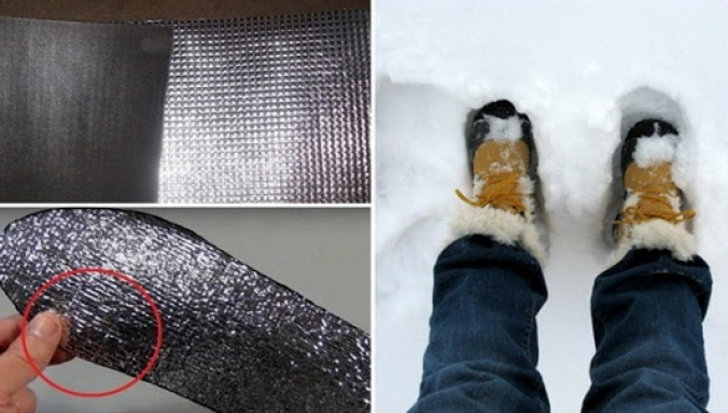 Foloseşte acest truc deloc scump, pentru a avea picioarele calde în timpul iernii