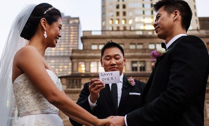 Cele mai amuzante fotografii de nuntă făcute vreodată