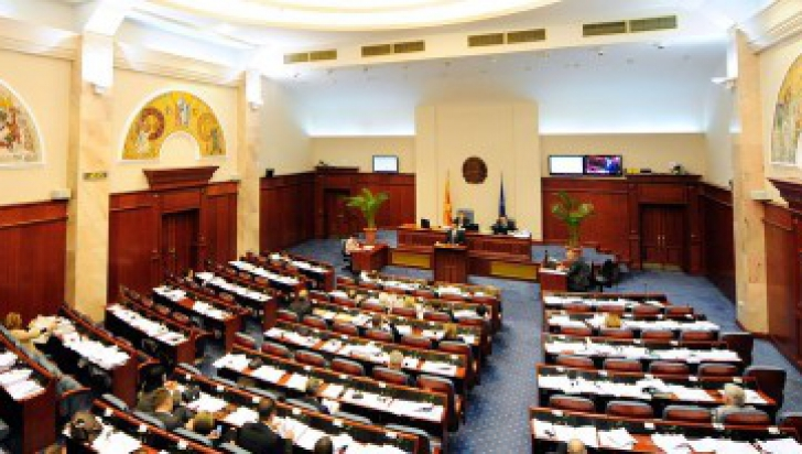 Parlamentul macedonean își anunță dizolvarea înaintea alegerilor legislative anticipate