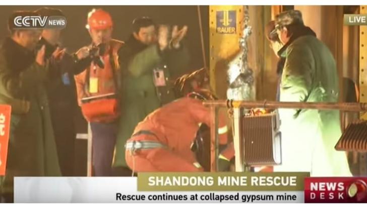 Ce au găsit salvatorii în subteranul unei mine din China, la 36 de zile de la dispariţia minerilor