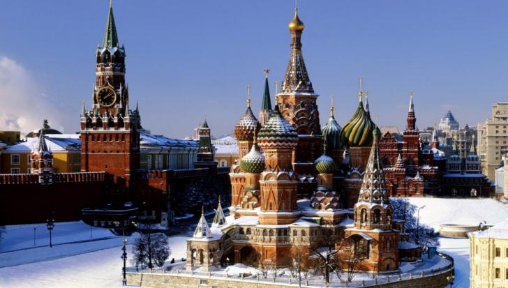 Moscova, în declin