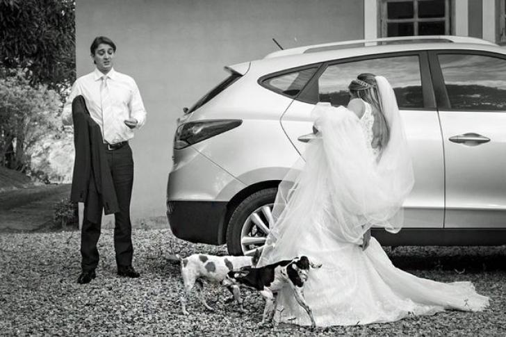 Cele mai tari fotografii de nuntă. Detaliile care le-au transformat în VIRALE