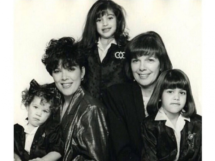 Clanul Kardashian, așa cum nu l-ai mai văzut niciodată! Fotografii de colecție