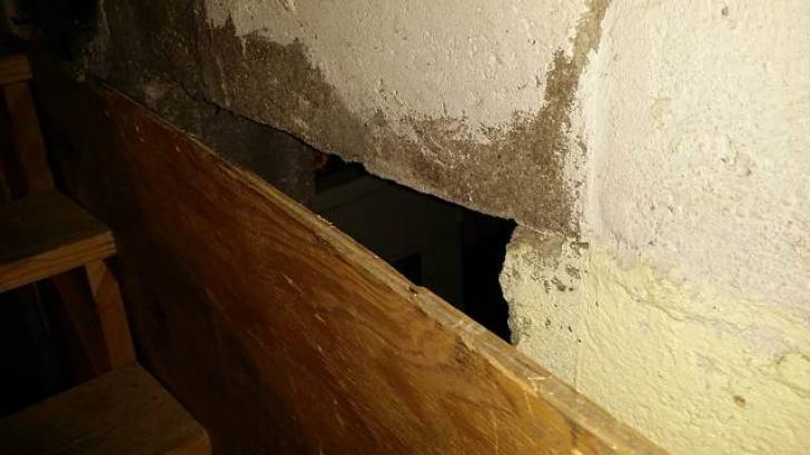 Au ajuns in subsolul casei si au gasit o camera secreta. Au intrat in ea si s-au ingrozit