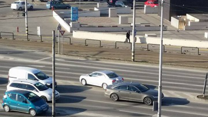 """S-au trezit cu """"musafiri"""" în mijlocul străzii. Nimeni nu a avut curaj să se dea jos din maşină"""