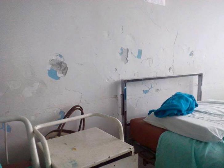 FOTO. Ţara spitalelor mizerabile. Iată unde sunt trataţi copiii din Slatina