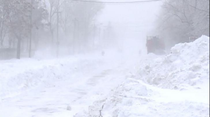 Trafic ingreunat din cauza ninsorilor. Mai multe judete sunt afectate