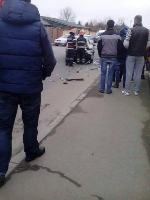 Accident grav în Capitală! Patru maşini au fost implicate