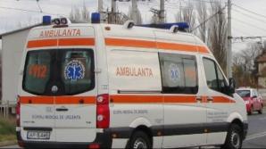 Accident grav în Vâlcea. A încercat să traverseze neregulamentar strada. Acum, este în comă