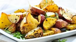 Reţetă. Aşa se fac cei mai buni cartofi cu oregano la cuptor