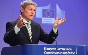 Dacian Cioloş, la Bruxelles