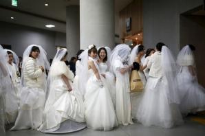 Nunta uriaşă în Coreea de Sud