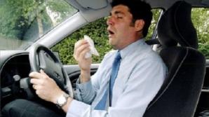De ce este periculos să conduci maşina atunci când eşti răcit