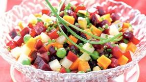 Salată rusească de sfeclă roşie! O reţetă simplă, delicioasă şi sănătoasă