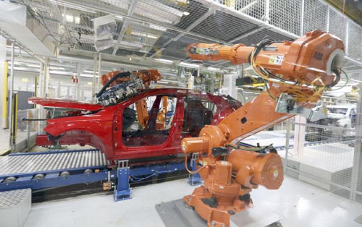 Creștere cu 10% pe exporturi de componente