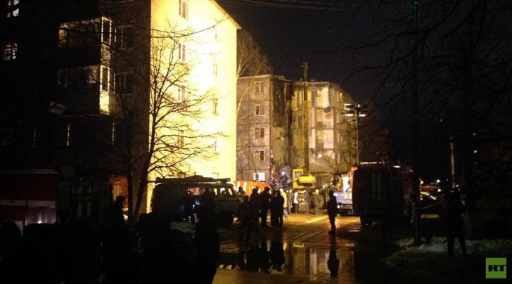 Tragedie în Rusia: un bloc de cinci etaje s-a prăbuşit în urma unei explozii puternice
