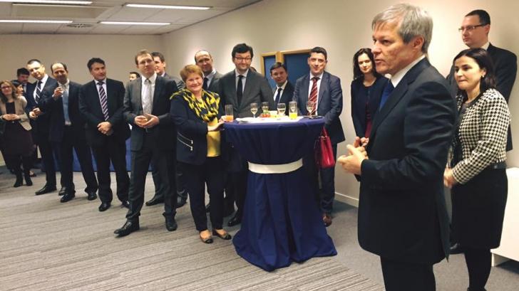 Dacian Cioloș, a doua zi a vizitei la Bruxelles. Ce se află pe agenda premierului