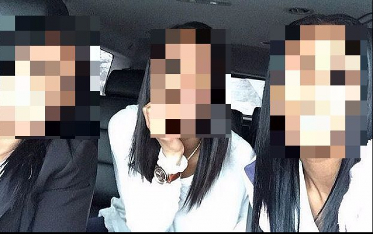 Lumea crede că sunt triplete, dar se înșală. Reușești să ghicești care e mama și care sunt fiicele?