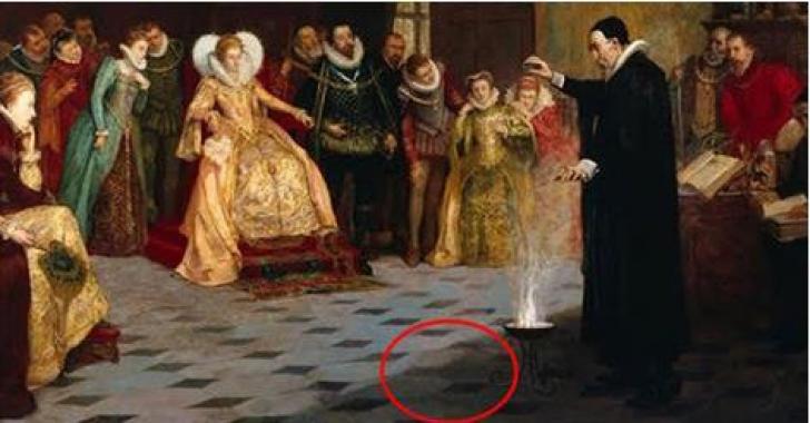 O analiză cu raze X a unei picturi vechi a dezvăluit un secret sinistru. Detaliul ascuns sub vopsea
