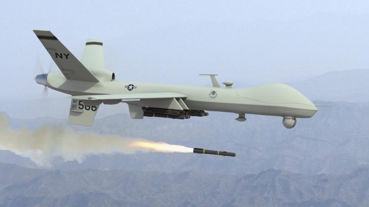 SUA au dat o lovitură teribilă Statului Islamic. Două drone au făcut ravagii