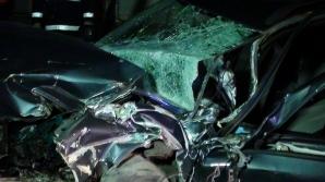Accident feroviar în Dej. Un bărbat a rămas încarcerat