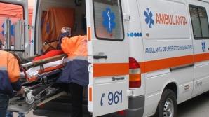 Accident grav în Carei. Un şofer de 75 de ani a rănit 3 persoane