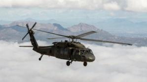 Elicopter militar prăbuşit. Nu există supravieţuitori