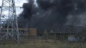 Explozie a avut loc la o fabrică din Oneşti. Două persoane, rănite