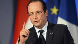 """Hollande: Nivelul riscului terorist rămâne """"foarte ridicat"""" în Franţa"""