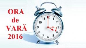 Ora de vară 2016. În weekend, România trece la ora de vară. Ora 03.00 va deveni ora 04.00