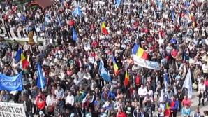 Continuă protestele în Bucureşti. Astăzi îşi strigă nemulţumirile angajații din energie