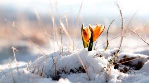 Soare cu dinţi, lapoviţe şi ninsori. Prognoza meteo pe trei zile
