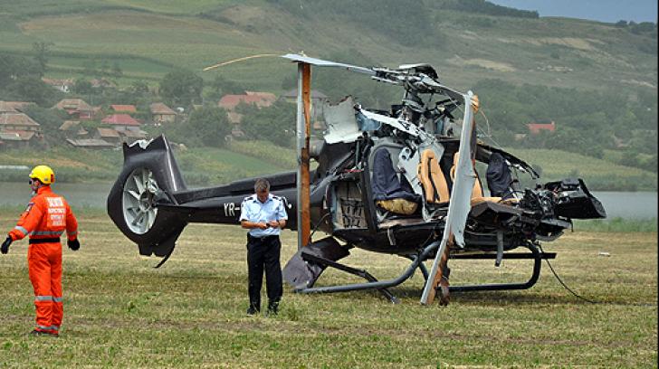 Cauza accidentului aviatic de la Tăureni: Incapacitatea fizică de reacţie a pilotului