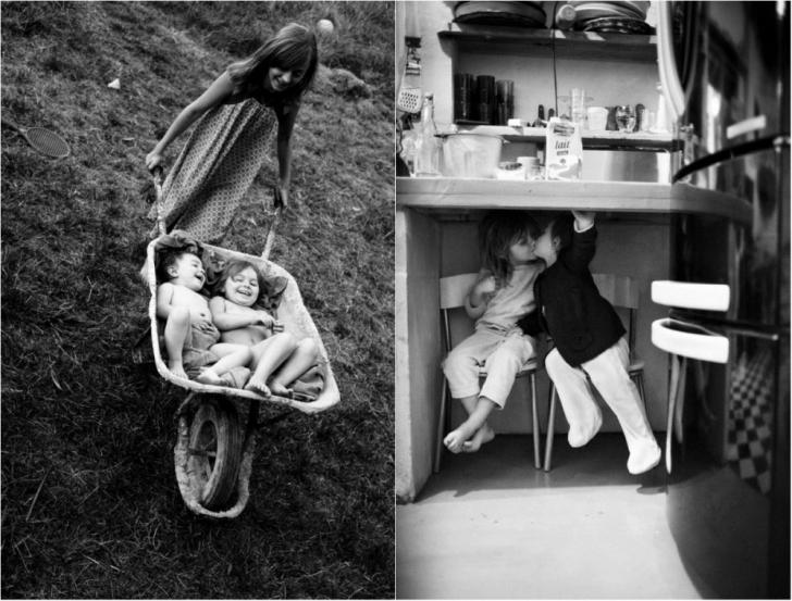 Top 20 de fotografii despre bucuria copilăriei! O să te apuce melancolia