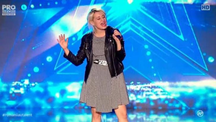 ROMÂNII AU TALENT 2016. A urcat pe scenă şi a început să vorbească. Toată lumea a izbucnit în râs!
